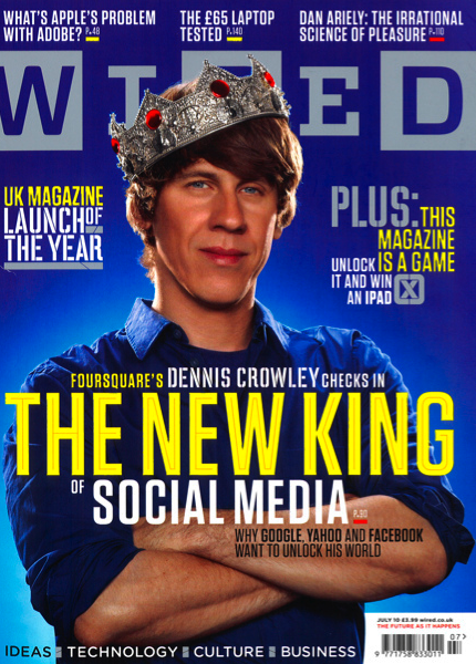 Picture from June 2010 cover issue of Wired magazine